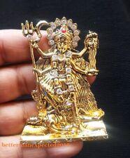 Kali Maa Vaishno Mata Durga Ma Metal with Stone- Murti - Statue -7 cm ~Energized