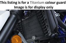 Yamaha MT 25 2017 R&G Racing Titanium Radiator Guard RAD0205TI