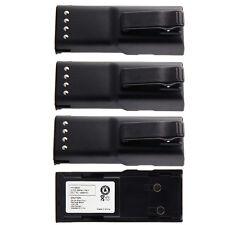 4X 1800mAh Ni-Mh HNN9628 HNN9628A Battery for MOTOROLA GP-300 LCS2000