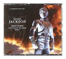 Michael Jackson History Past Present and Future Book I 2cd Greatest Hits Best of