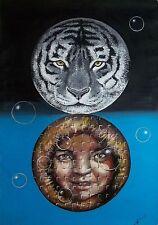 Original Art Large  painting Cuban Artist Cuba FERNANDO GODERICH FABARS 109