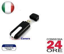 Spy CAM Chiavetta USB con Telecamera Video Nascosta su Micro USB Spia