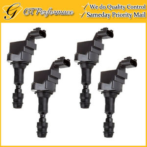OEM Quality Ignition Coil 4PCS for Buick/ Chevy/ Pontiac/ SAAB/ Saturn 2.0/2.4L