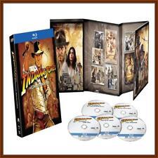 INDIANA JONES - COMPLETE ADVENTURES- 4 FILMS *BRAND NEW BLURAY* REGION FREE