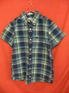 ABERCROMBIE & FITCH kids Older boys shirt Checked 100% Cotton size XL