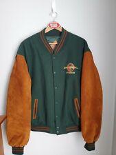 Vintage 90s Universal Studios Wool Varstiy Jacket Men's XXL Green