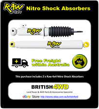 Ford Ranger PJ & PK RAW 4x4 Nitro Front Shock Absorbers