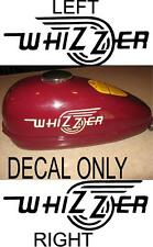 DECAL SET REPAINT RESTORE SCHWINN WHIZZER BICYCLE TANK 1.LEFT 1.RIGHT