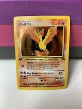 Pokémon 1st Edition Fossil Moltres Holo Rare 12/62 Collectible