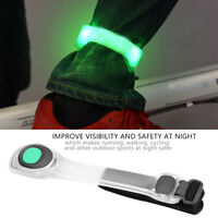 Reflective LED Light Arm Armband Strap Safety Belt For Night Running Cycling BS3