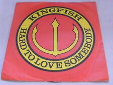 """KINGFISH Hard To Love Somebody Ex Jet 1978 UK P/S Demo 7"""""""