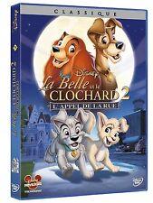 """Dvd  """"La Belle Et Le Clochard 2""""  Disney avec numero 59  NEUF SOUS BLISTER"""