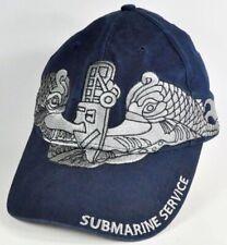 U.S. NAVY BLUE SUBMARINE SERVICE HAT BASEBALL CAP