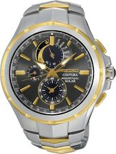 Seiko SSC376 SSC376P9 Coutura Perpetual Calendar Mens Solar Watch RRP $750.00