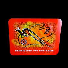 Australia Design Australian Aboriginal Dot Art Flying Kangaroo Mouse Pad Red NEW