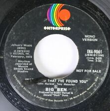 Soul Promo Nm! 45 Big Ben - Baby, Now That I'Ve Found You / Baby, Now That I'Ve