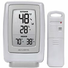 Wireless Indoor Outdoor Thermometer Humidity Sensor by AcuRite