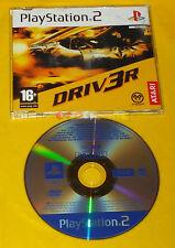 DRIV3R Ps2 Driver 3 Versione Europea Promo ○○○○○ SOLO DISCO