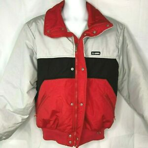 Gerry Vintage W816 Color Block Thermolite L Ski Jacket Large Mens USA Made 49in
