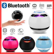 Wireless LED Mini Bluetooth Speaker Portable Super Bass Stereo USB/TF/FM Radio