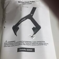 New Strong-Arm Drum Puller 52403 1100 Lbs