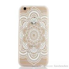 Flower Paisley ultra soft & thin Transparent Cover Phone Case for iPhone 6s Plus