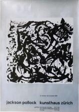 Original vintage poster JACKSON POLLOCK ART EXPO ZURICH 1961