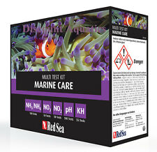 Red Sea Marine Care Test Kit. Ammonia,Nitrite,Nitrate, ph, KH New April 2017