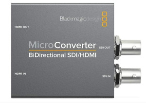 Blackmagic Design Micro Converter Adapter BiDirectional SDI/HDMI/PSU