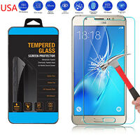 9H ULTRA CLEAR TEMPER GLASS SCREEN PROTECTOR For Samsung Galaxy J7 (2016) USA