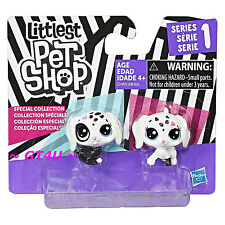Littlest Pet Shop Black & White Puppy BFFs Dalmation Series 1 Special Collection