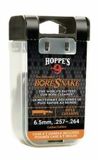 HOPPE'S Boresnake Bore Snake w/Snake Den Case 6.5mm 257-264 cal rifle 24013D New