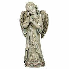 "Praying Celtic Angel Garden Statue, 16"" Tall, Joseph's Studio by Roman 62662"