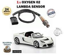 para LOTUS Exige 3.5 V6 VVTI S 350bhp 24v 2012> NUEVO 1 x 02 SENSOR LAMBDA