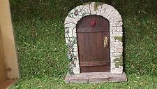Miniature Fairy Garden Large Fairy door, Garden door for Miniature Fairy Gardens