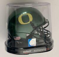 Oregon Ducks mini helmet pac 10 football schutt new