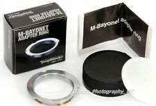 Voigtlander M-Bayonet Adapter for LEICA L39 fit 50-75mm Lenses on LEICA M3 M6 M9
