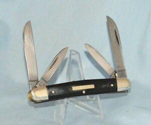 """RARE BULLDOG BUFFALO HORN CONGRESS KNIFE """"2004 """"NEAR MINT!! NO CASE /BOX"""
