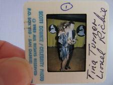 More details for original press photo slide negative - lionel richie & tina turner - 1985 - b