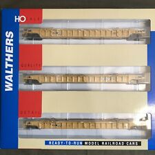 Walthers RTR HO 3 Pack NSC 3-unit 53' Well Car TTX 620549