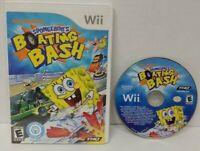 SPONGEBOB'S BOATING BASH - Nintendo Wii Wii U Game Working  Tested