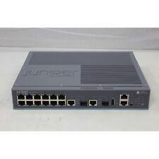 NEW - Juniper Layer 3 12 Port Gigabit Network Switch PoE (EX2200-C-12P-2G)