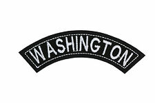 WASHINGTON TOP MINI ROCKER EMBROIDERED MOTORCYCLE PATCH