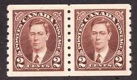 Sc 239 - Canada - 1937 - KGVI - 2 cent  - MNH - VF -Superb -  superfleas - cv$22