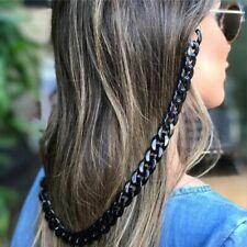 Chain Glasses Holder Women Black White Lanyards Sunglasses Retro 70cm