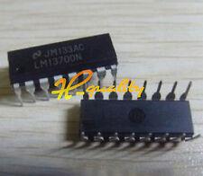 LM13700 LM13700N INTEGRATED CIRCUIT LM13700N