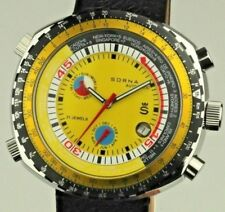 RARE SORNA by BREITLING World Tour Automatic SWISS MADE NOS  🚚 FAST & FREE