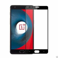 Full Edge to Edge Black Tempered Glass Screen Guard Protector for OnePlus 3 / 3T