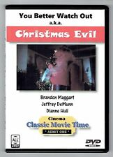Christmas Evil (1980, DVD-R) aka You Better Watch Out - Horror - Brandon Maggart