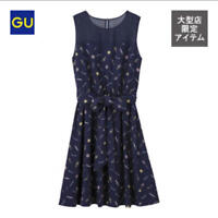 Sailor Moon x GU Navy One Piece Dress 25th Anniversary Size L Limited F/S